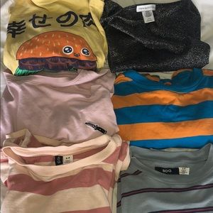 Urban outfitters shirt pack